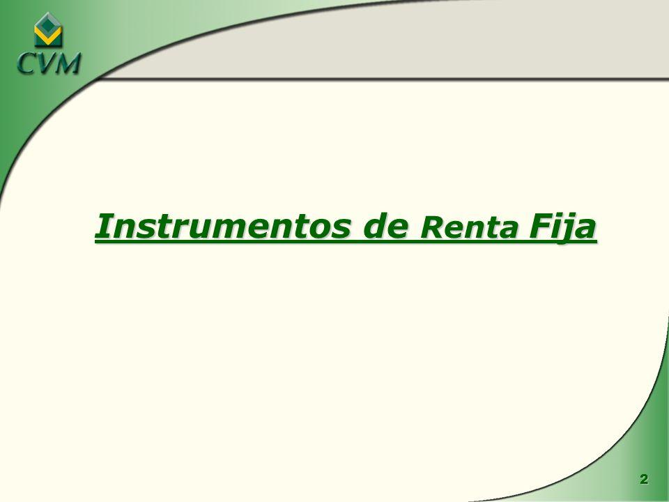 2 Instrumentos de Renta Fija