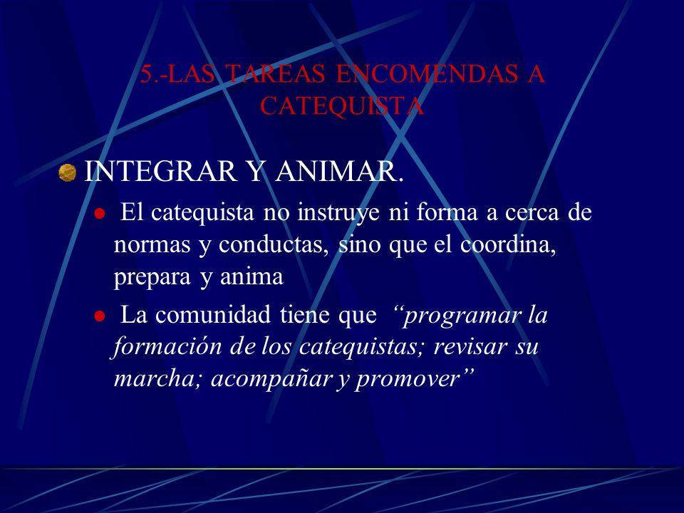 4.-EL CATEQUISTA: UN SERVIDOR DE LA PALABRA El catequista, como servidor de la Palabra, tiene como tarea iniciar en la comprensión y vivencia de la Pa