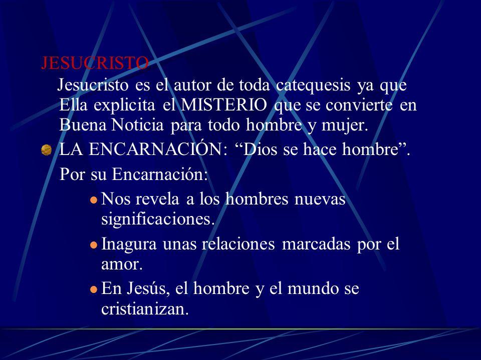 6.- LA CATEQUESIS Y SU MENSAJE Toda catequesis debe girar en torno al anuncio de la evangelización que muestra el DESIGNIO SALVÍFICO de Dios. Por cons