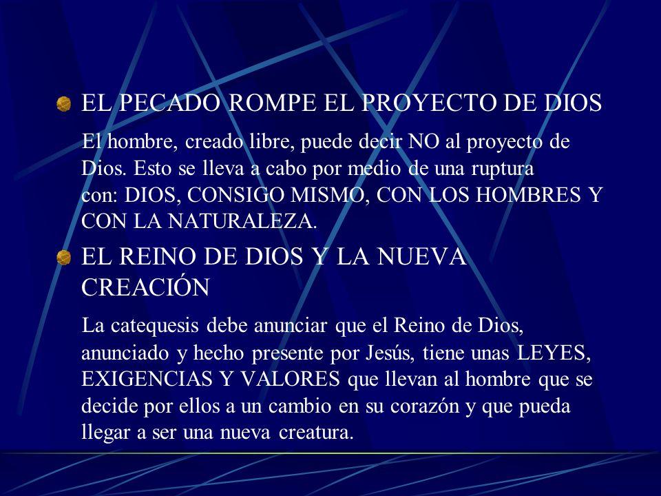 LA HISTORIA HUMANA Y EL PROYECTO DE DIOS Desde el principio, la historia de los hombres estuvo influenciada por la acción del Espíritu Santo. Este pen