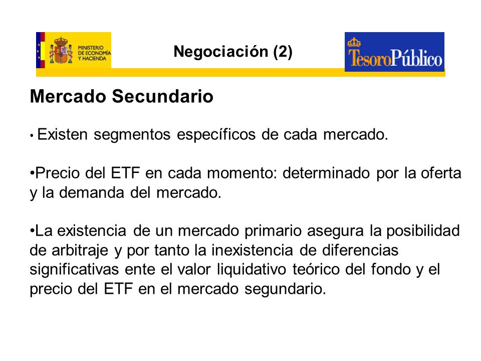 LOS ETF EN ESPAÑA (1) Regulación: artículo 49 del RD 1309/2005, por el que se aprueba el Reglamento de la Ley de Instituciones de Inversión Colectiva.
