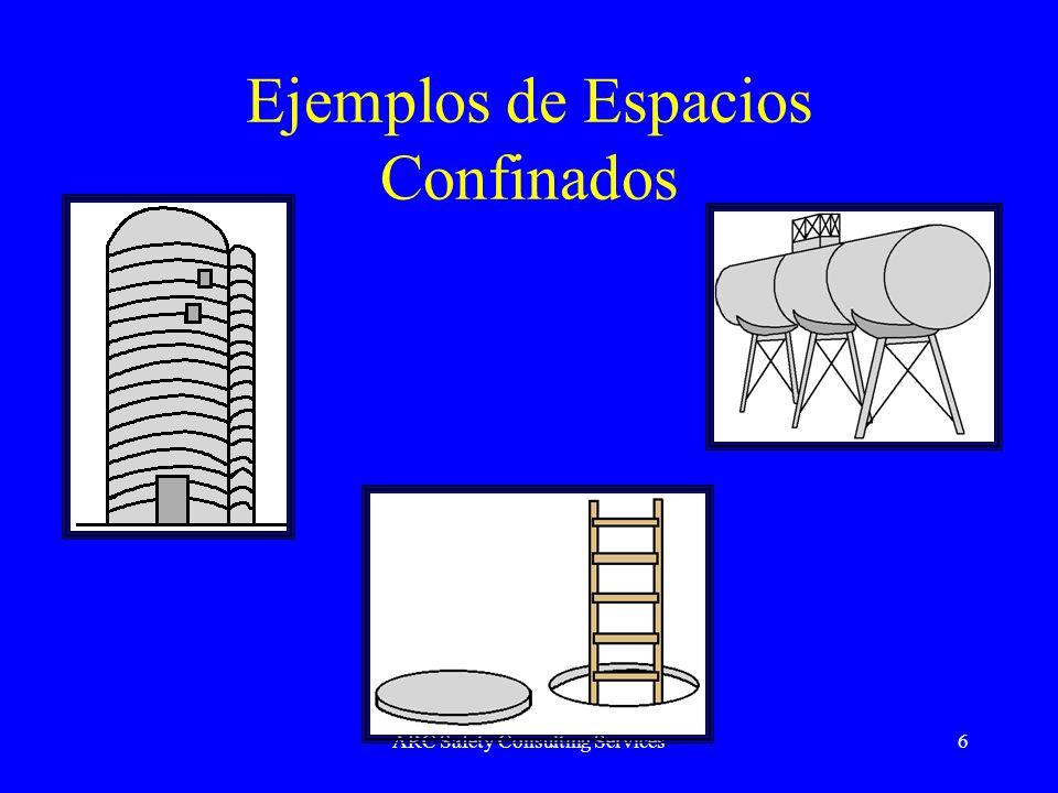 ARC Safety Consulting Services6 Ejemplos de Espacios Confinados