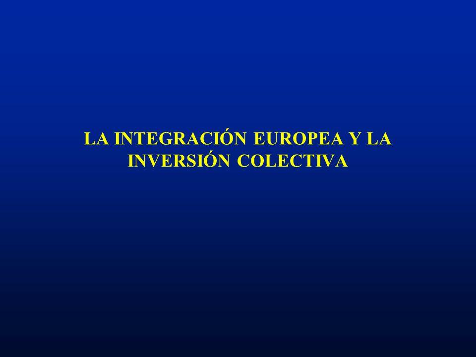 ETAPAS DEL PROCESO DE INTEGRACIÓN COMUNITARIA El Tratado de Roma: libre circulación de capitales limitada.