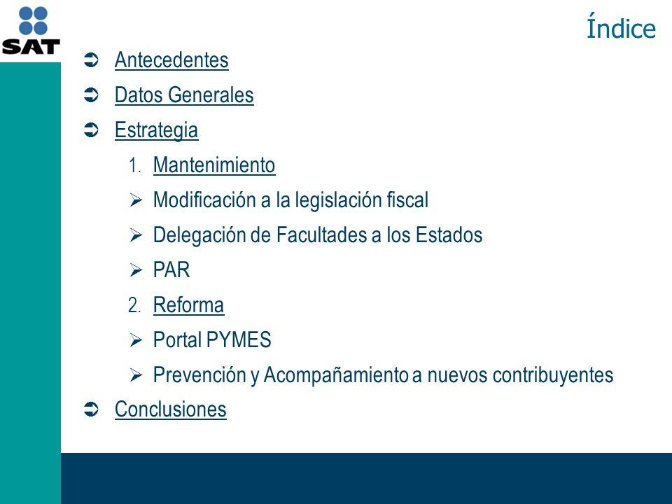 Antecedentes Datos Generales Datos Generales Estrategia 1.