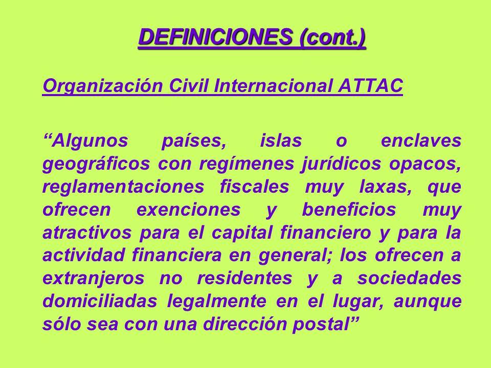 III - SERVICIOS Y VENTAJAS OFRECIDOS (cont.) C) Características financieras especiales (cont.).