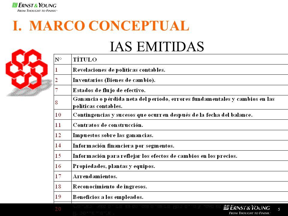 5 IAS EMITIDAS I. MARCO CONCEPTUAL