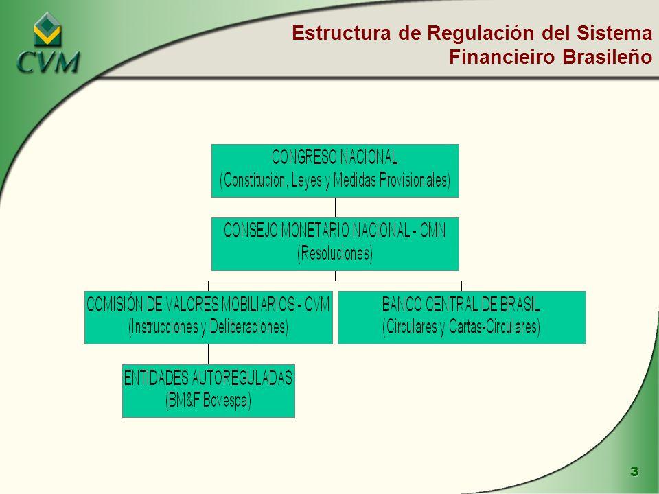 3 Estructura de Regulación del Sistema Financieiro Brasileño