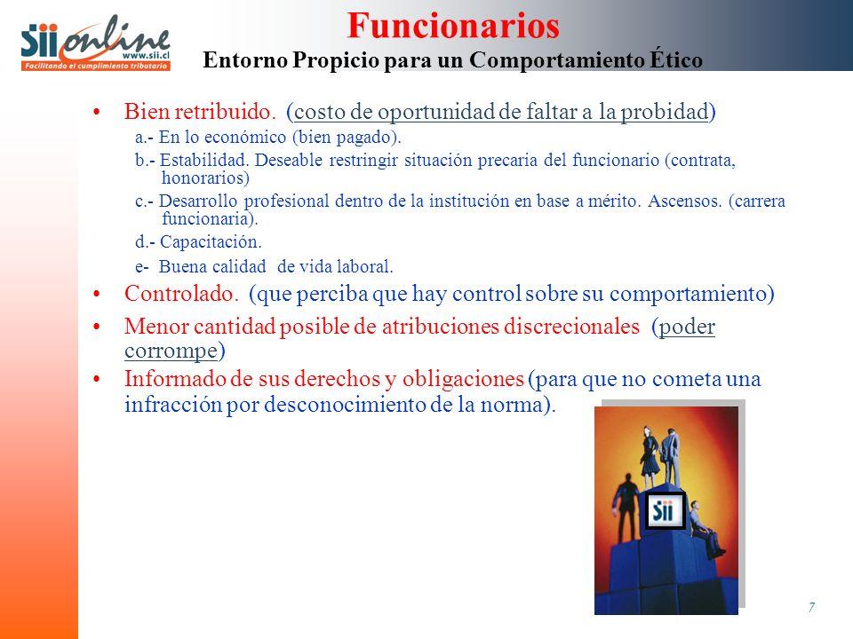 8 Política de Recursos Humanos Política Institucional en Materia de Seguridad Funcionaria.