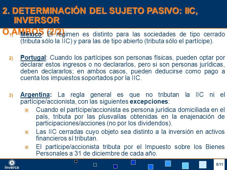 3/9 3. TRIBUTACIÓN DEL PARTÍCIPE/ACCIONISTA (1/3) 6/11
