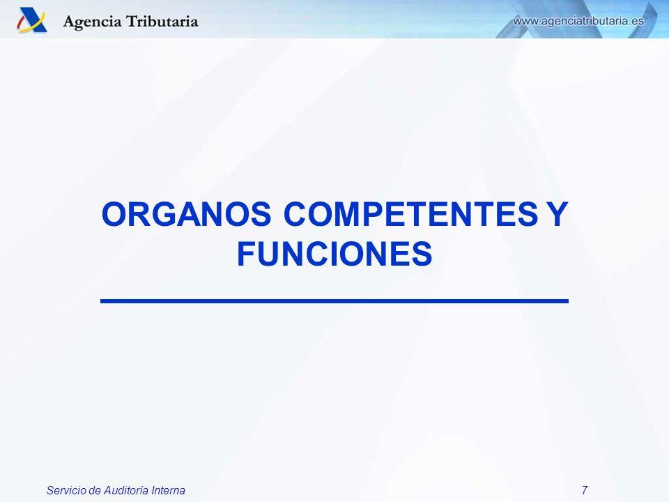 Servicio de Auditoría Interna8 1- SERVICIO DE AUDITORIA INTERNA.