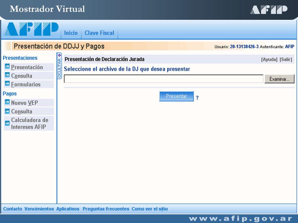 Mostrador Virtual