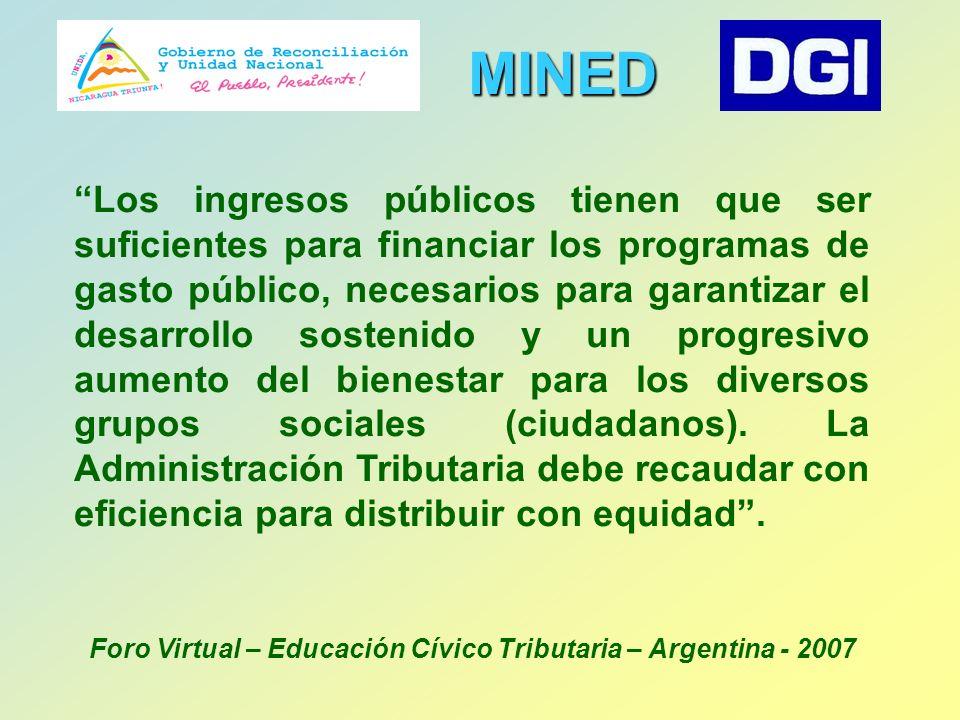 Año 2007 -Con el nuevo gobierno de Reconciliación y Unidad Nacional, se le dio continuidad al convenio.
