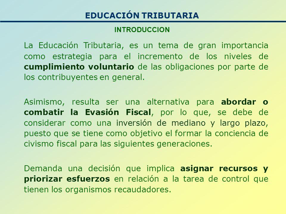 La educación tributaria también es un tema de ciudadanía, ya que involucra: Componentes de valores éticos.