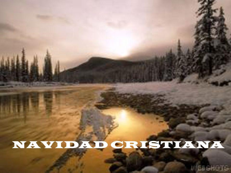 NAVIDAD CRISTIANA