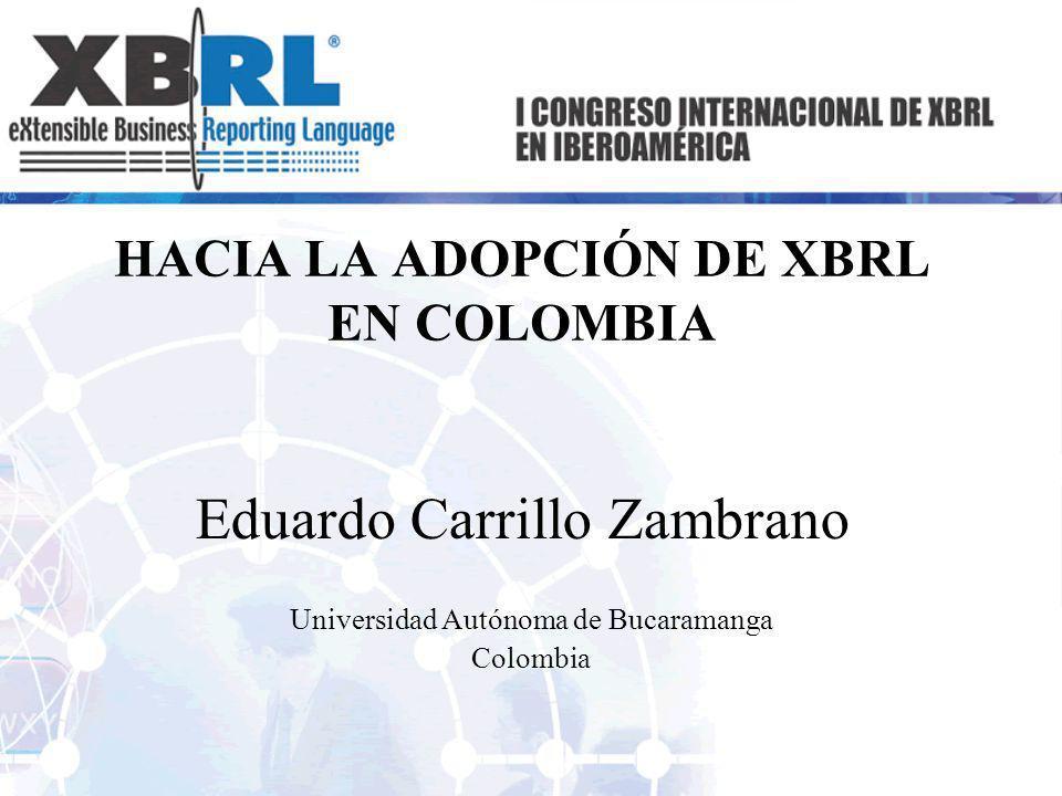 Índice 1.Estado Actual del Intercambio de información de negocios en Colombia.