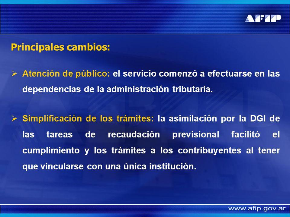 El proceso de la transferencia (1993) Se transfirió a la DGI la aplicación, recaudación, fiscalización y cobranza coactiva de los recursos de la segur