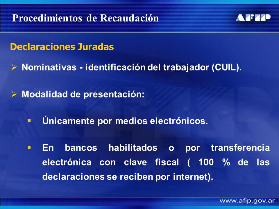 Contribuyentes: Clave Única de Identificación Tributaria (CUIT). Padrón Único de Contribuyentes. Procesos unificados de recaudación, control (tanto pa