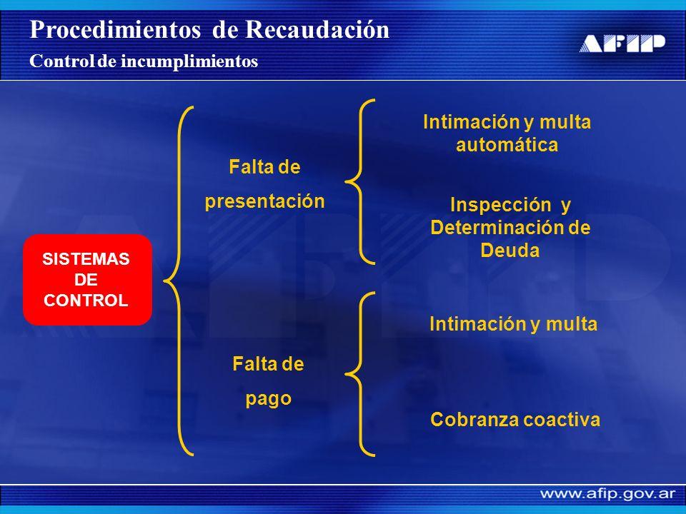 Distribución de fondos del SIJP Fuente: DI GRSS – AFIP Marzo 2007 Procedimientos de Recaudación Proceso de recaudación y distribución de fondos