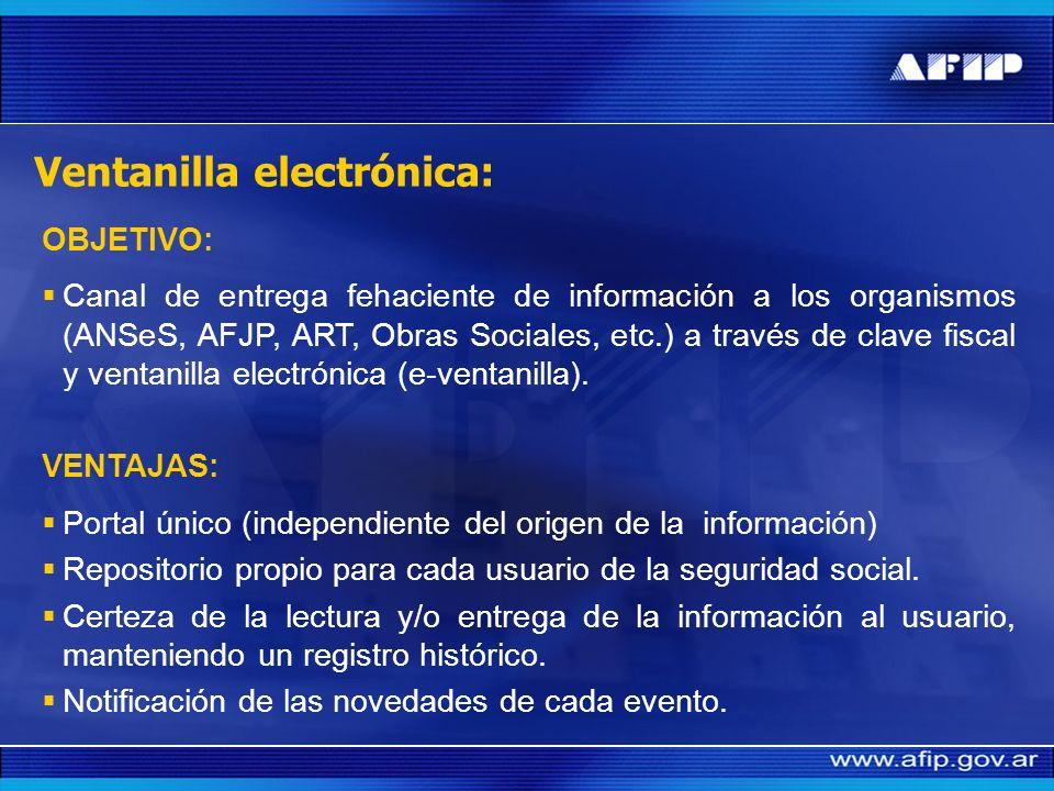 Acceso y transferencia de información a los Organismos de la Seguridad Social
