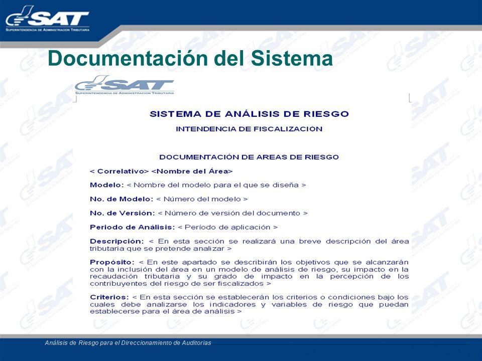 Documentación del Sistema