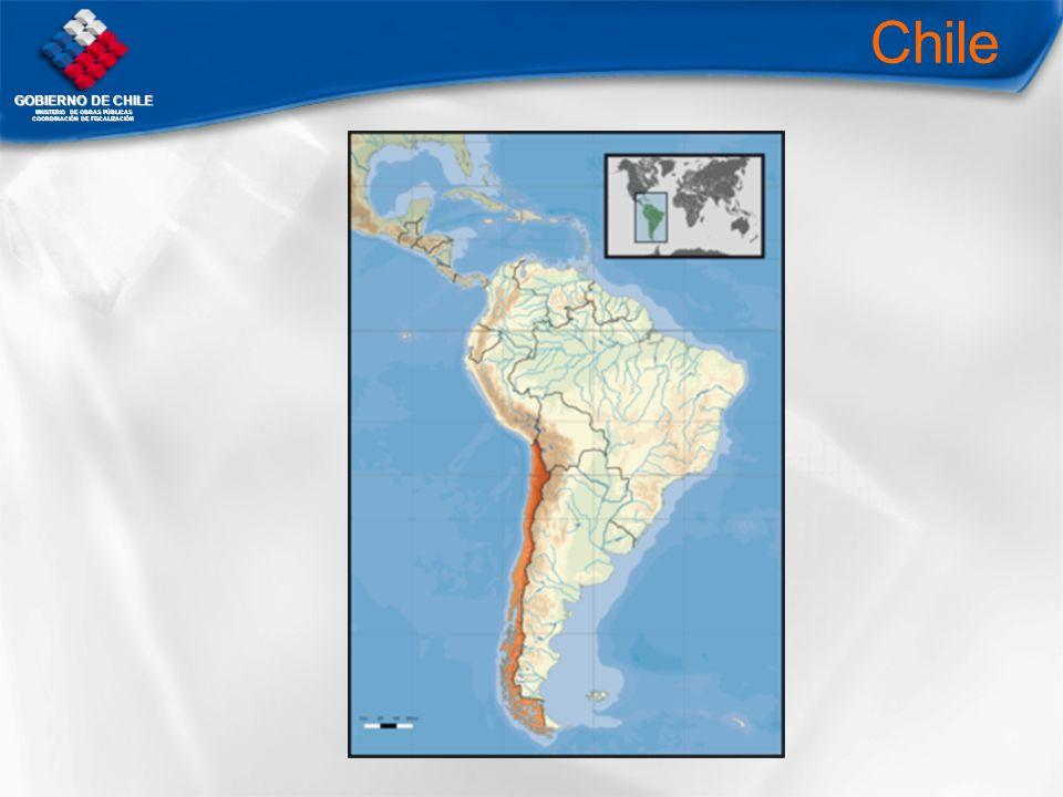 GOBIERNO DE CHILE MNISTERIO DE OBRAS PÚBLICAS COORDINACIÓN DE FISCALIZACIÓN Chile