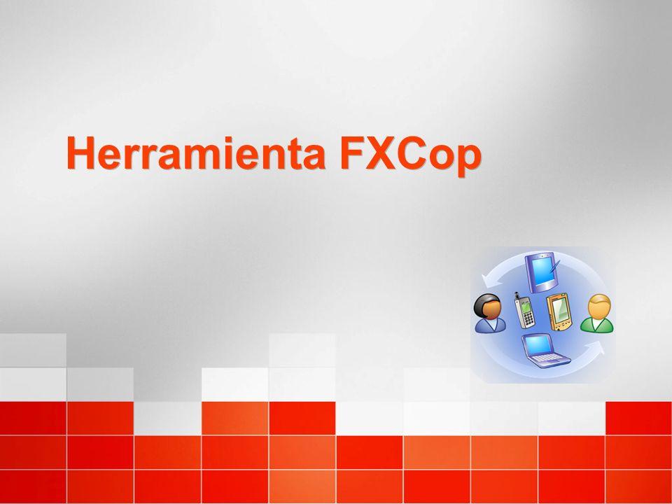 Herramienta FXCop