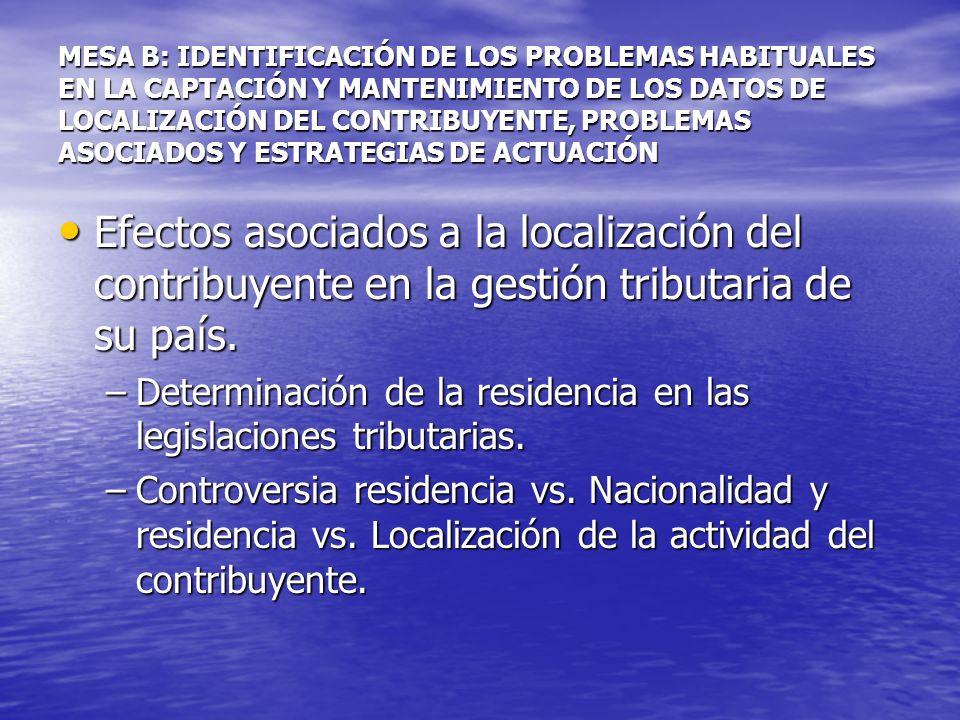 ¿Existe un censo único para todas las Administraciones Tributarias del país.