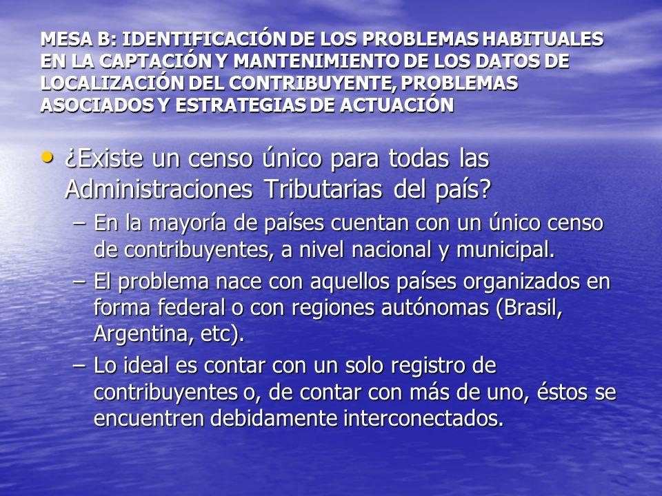 Domicilio Fiscal de no residentes: Criterios especiales.