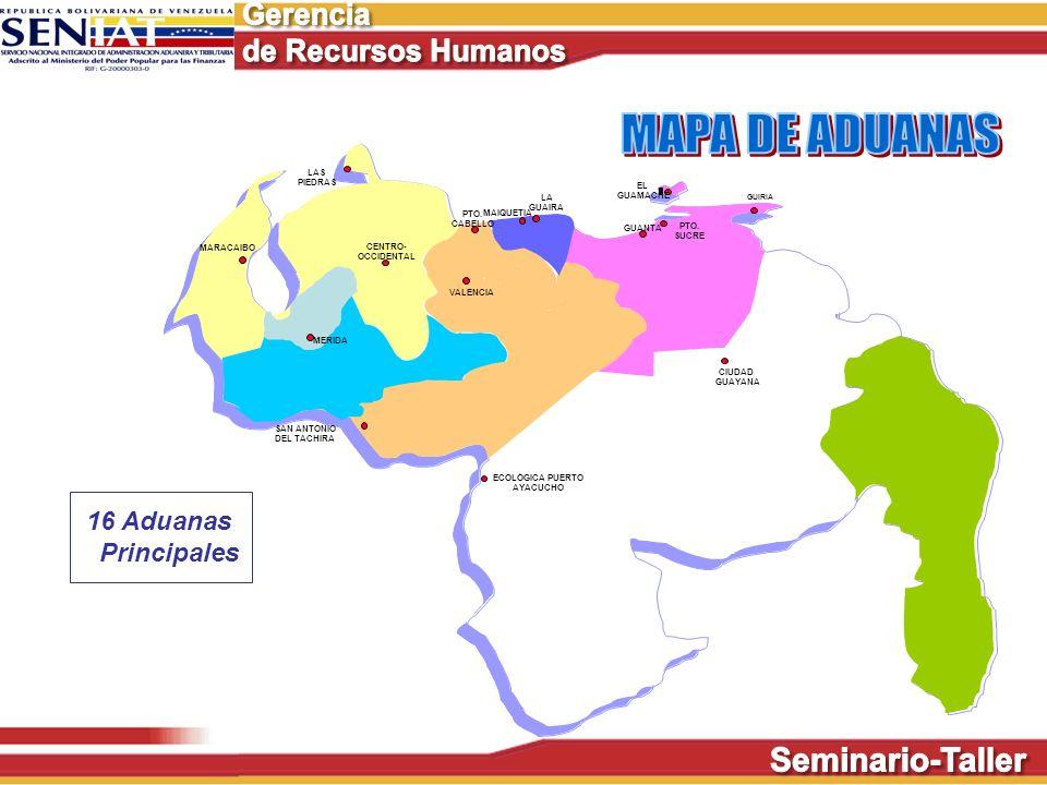 ECOLÒGICA PUERTO AYACUCHO CIUDAD GUAYANA MARACAIBO LAS PIEDRAS VALENCIA PTO. CABELLO MAIQUETIA LA GUAIRA GUANTA PTO. SUCRE GUIRIA EL GUAMACHE CENTRO-