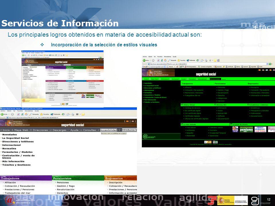 11 Servicios de Información