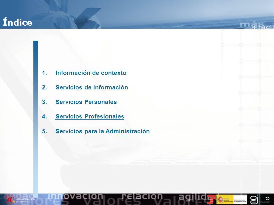 19 Tendencias Tecnológicas en la Seguridad Social Servicios Personales 14.424.099 Atención Presencial 5.599.787 Atención Telefónica 2.896.913 Atención