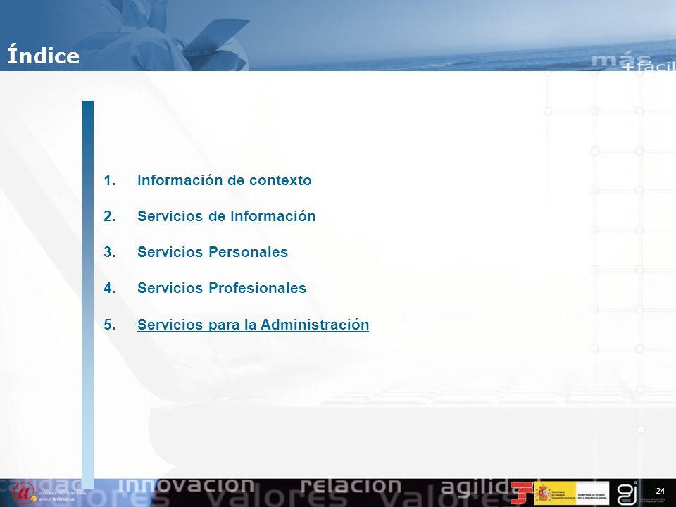 23 Servicios Profesionales % Trabajadores98,91% CCC90,97% Pago electrónico97,63% Sistema RED. Datos (Septiembre de 2007) Autorizaciones71.010 Total us