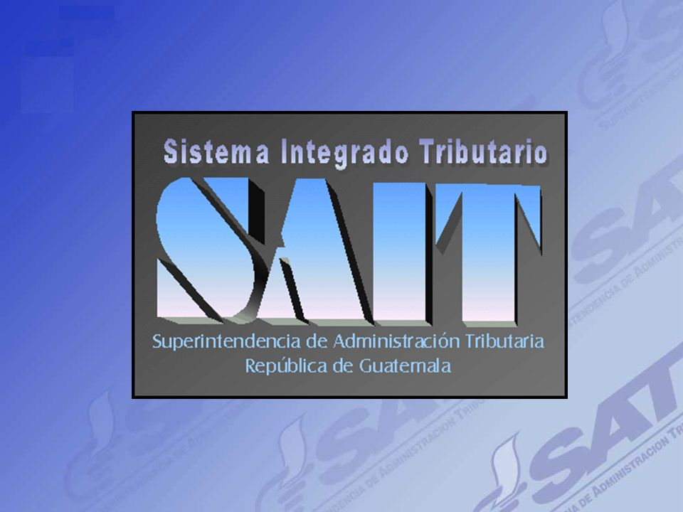 Intendencia de Recaudación, SAT 7 ORGANIGRAMA DEPTO. DE RECAUDACION REGION CENTRAL Jefe de Recaudación Región Central Unidad de Cuentas A Entidades Re