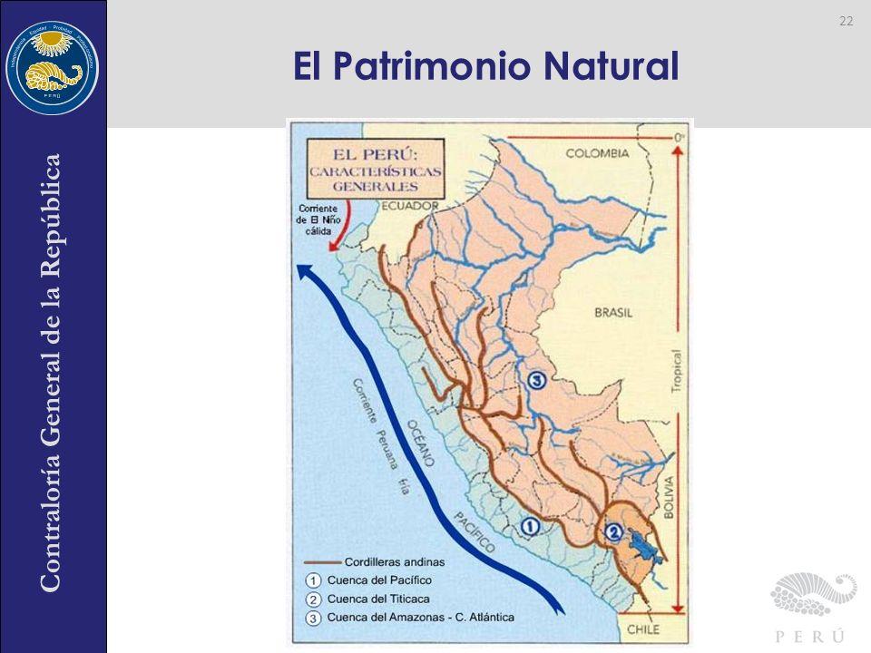 Contraloría General de la República El Patrimonio Natural 22