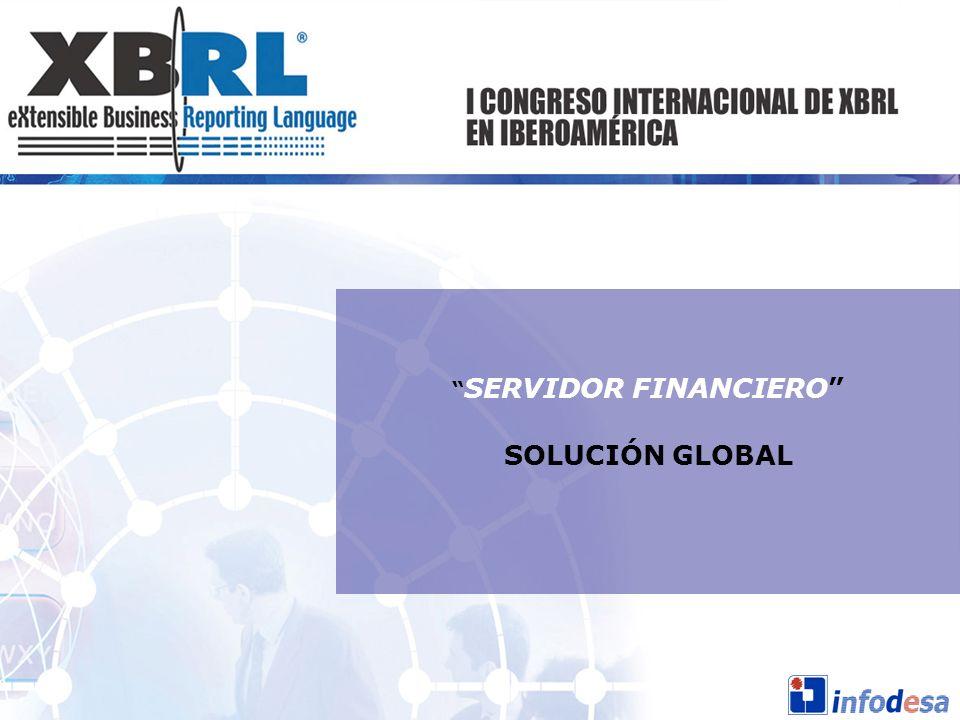 SERVIDOR FINANCIERO SOLUCIÓN GLOBAL