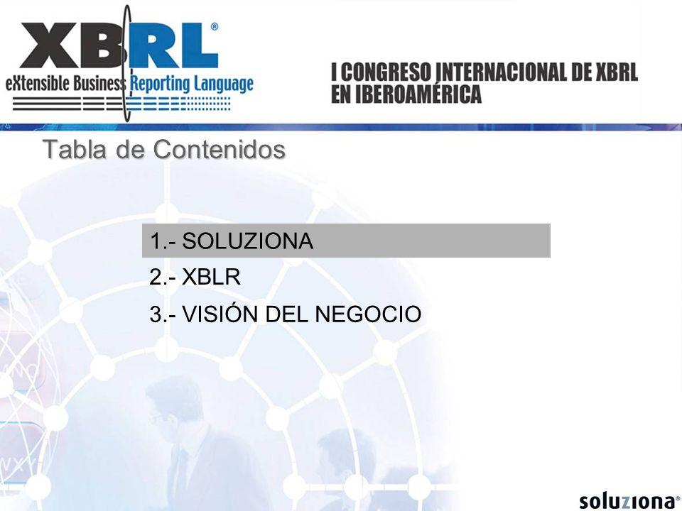 Reduce costes, tiempos y errores en la recopilación de datos (ej.: Informa, Registros Mercantiles, Agencias Rating…) Beneficios de XBRL para Elaboradores de BBDD contables Beneficios de XBRL para Elaboradores de BBDD contables Beneficios de XBRL para Organismos Reguladores Beneficios de XBRL para Organismos Reguladores Facilita su propia actividad reguladora / supervisora (Banco de España, CNMV,…) Beneficios de XBRL para Auditores Beneficios de XBRL para Auditores Agiliza sus procesos, aproximando a la auditoria on-line y reduce tiempos necesarios para revisión contable