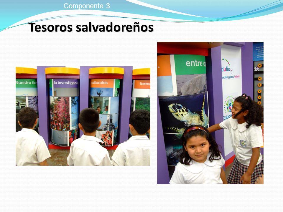 Tesoros salvadoreños Componente 3