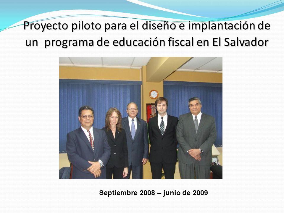 Presentación oficial del Programa de Educación Fiscal 4 de febrero