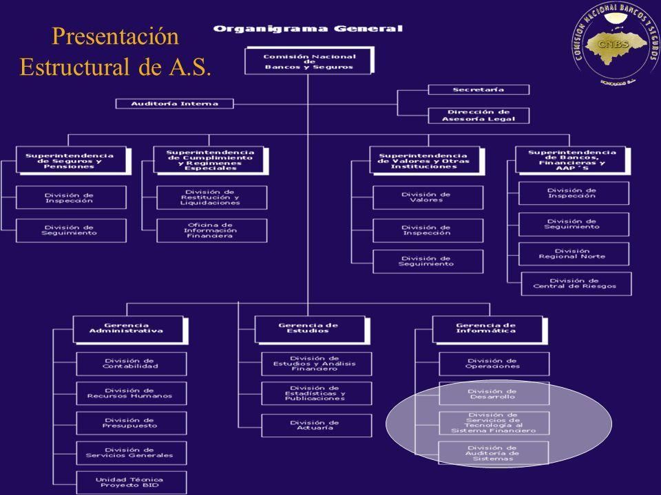 Presentación Estructural de A.S.