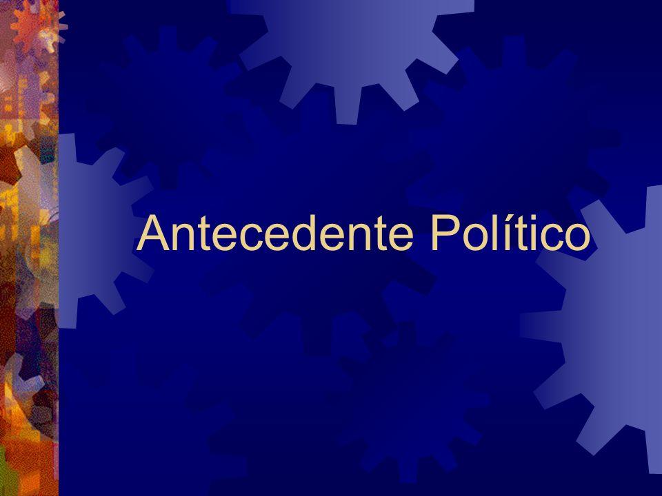Antecedente Político