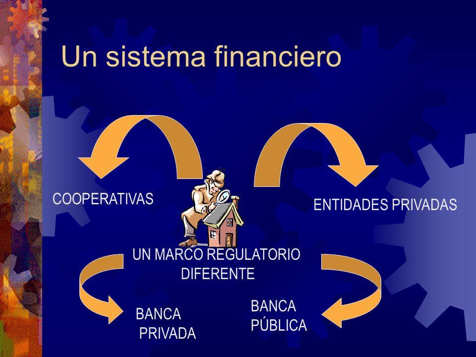Una banca para todos COOPERATIVAS MIPYMES ORG CAMPESINAS EMPRENDEDORES