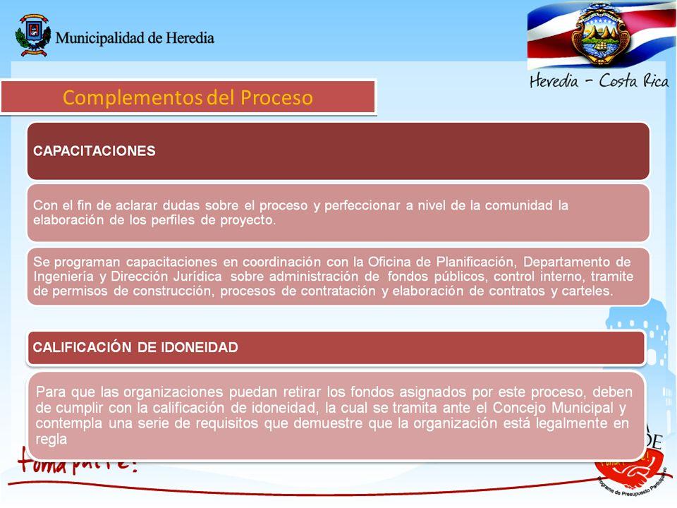 Complementos del Proceso