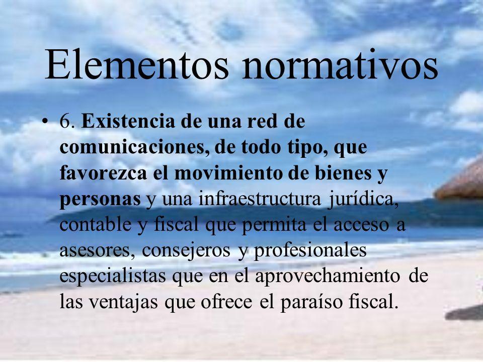 Elementos normativos 6.