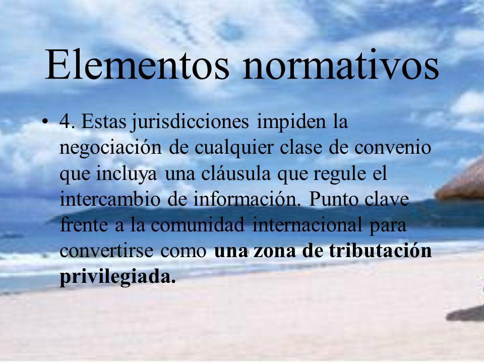 Elementos normativos 4.