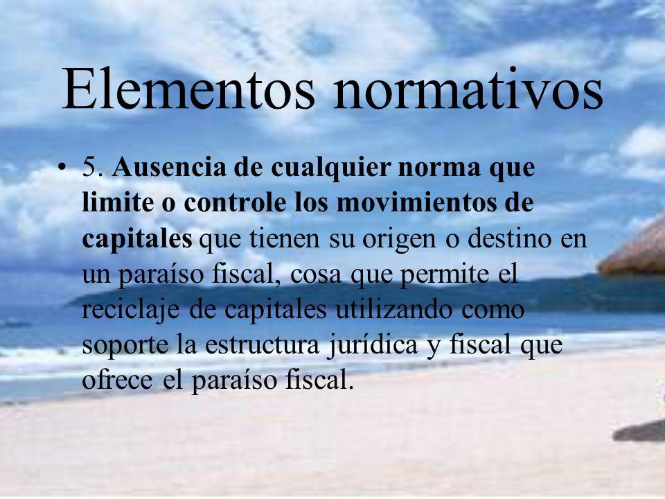 Elementos normativos 5.