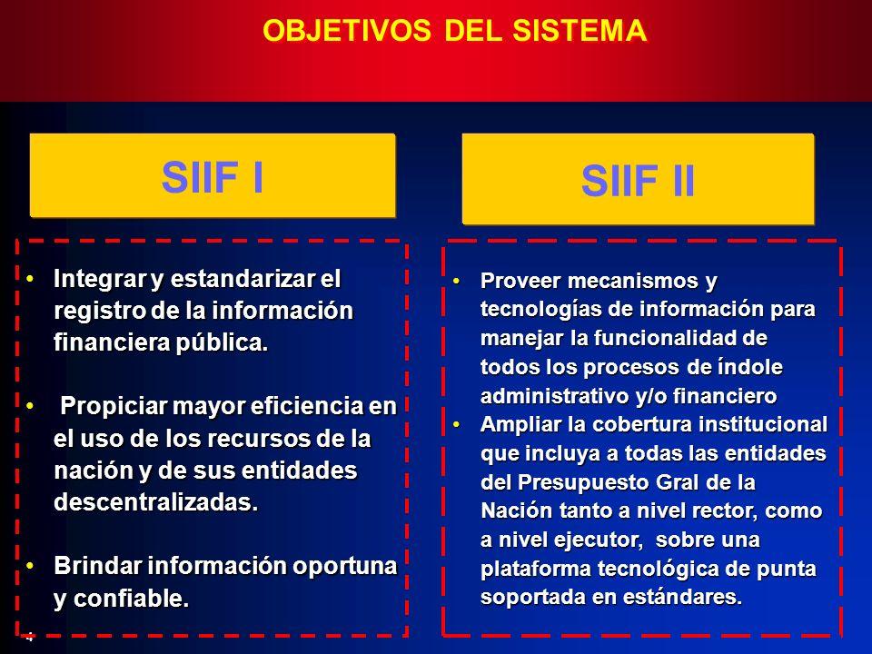 4 Integrar y estandarizar el registro de la información financiera pública.Integrar y estandarizar el registro de la información financiera pública. P