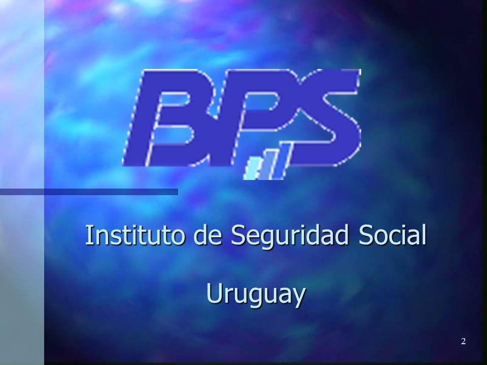 23 Instituto de Seguridad Social Uruguay EJEMPLO DE UN REPORTE DE CONSULTA SISTEMA GVA