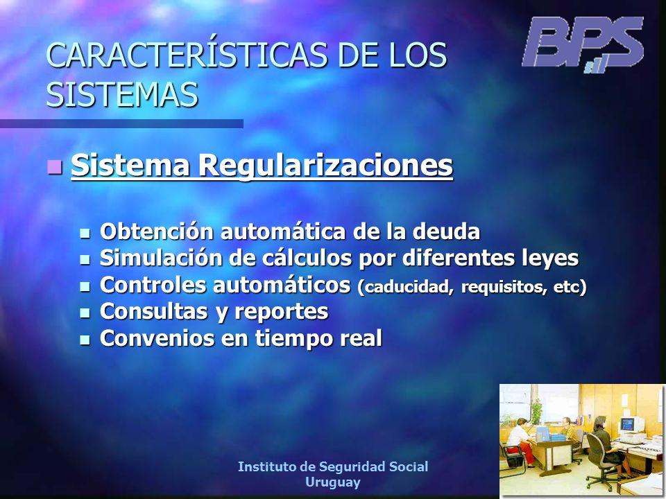 22 Instituto de Seguridad Social Uruguay Sistema Regularizaciones Sistema Regularizaciones Obtención automática de la deuda Obtención automática de la