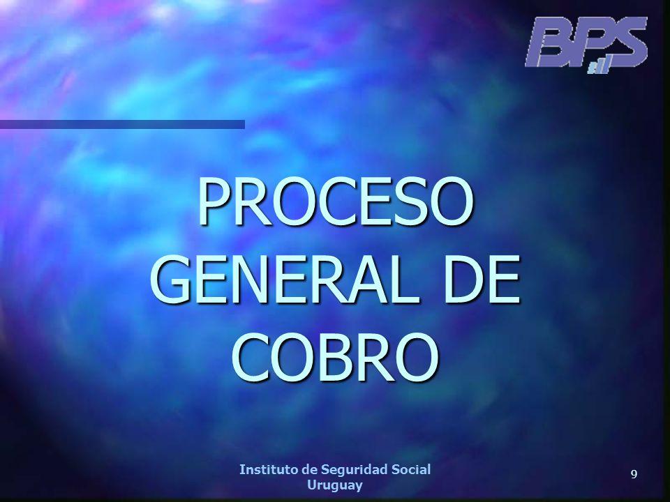 40 Instituto de Seguridad Social Uruguay GESTION DE COBRO Cartera de deuda morosa total por títulos al 31/12/2006 (pesos corrientes) Detalle por Rango de deuda Cant.