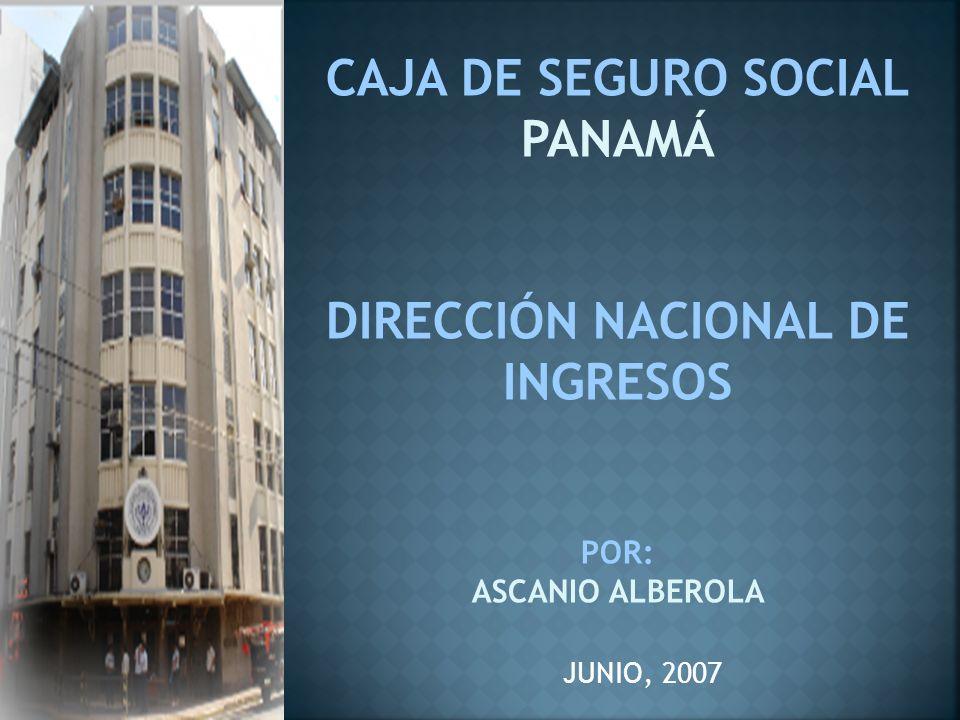 Modalidades y Lugares de Pago: Pago en efectivo o Cheque de Gerencia en las Agencias (26 Agencias) Sistema de pago por banco Sistema ACH Directo Pagos en Cajas del Banco Nacional de Panamá (62 sucursales) Pagos a través de banca por Internet.